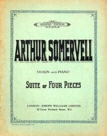 Arthur Somervell - Suite of Four Pieces - For Violin and Piano - Berner's Edition No. 13576
