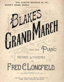 Grand March - Piano Solo