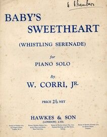 Baby\'s Sweetheart (Whistling Serenade) - Piano Solo