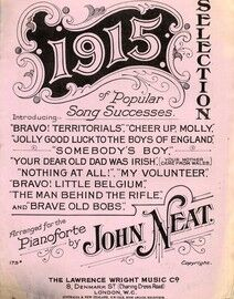 1915 Selection of Popular Song Successes