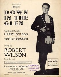 Down In the Glen - Song in the key of E flat major - Robert Wilson
