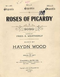 Roses of Picardy  -  Key of D major, for high voice