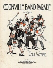 Coonville Band Parade - Two Step piano solo - Paxton edition No. 1654