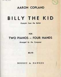 Aaron Copland - Billy the Kid - Excerpts from the Ballet for Two Pianos