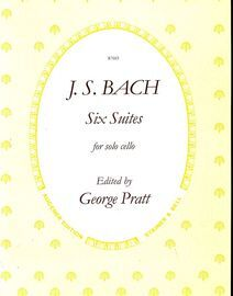 J. S. Bach - Six Suites for Solo Cello - Augener Edition