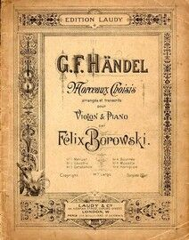 Handel - Morceaux Choisis - For Violin and Piano
