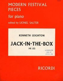 Jack-in-the-Box - Modern Festival Pieces for Piano