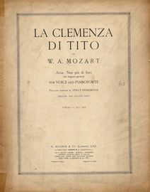 La Clemenza Di Tito - Aria: Non piu di fiori (No Fragrant Garland) - For Voice and Pianoforte - English and Italian Text