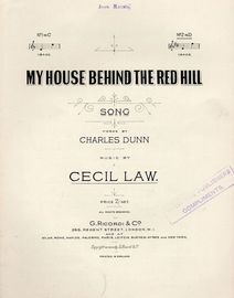 My House Behind the Red Hill - Song No. 2 in D for High Voice