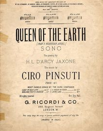 Queen of the Earth - Song - In the key of B flat major for medium voice