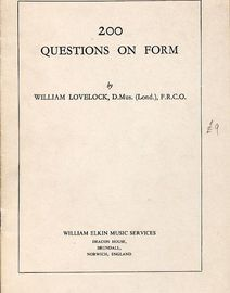 200 Questions on Form