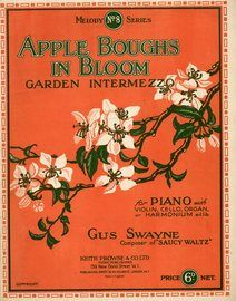 Apple boughs in bloom - Garden intermezzo - For violin and piano with seperate violin part