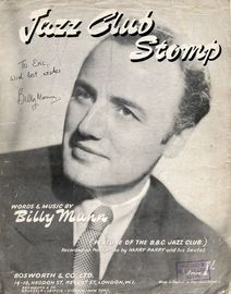 Jazz Club Stomp - Feature of the B.B.C. Jazz Club and Recorded on Parlophone by Harry Parry and his Sextet
