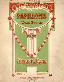 Papillons - Valse Caprice - For Piano Solo