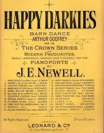 Happy Darkies, barn dance, no. 13 of