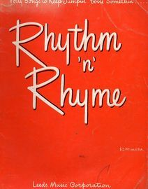 Rhythm n Rhyme, forty songs to keep jumpin' 'bout somethin'