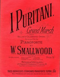 I Puritani - Grand March from Bellini's Celebrated Opera - Pianoforte
