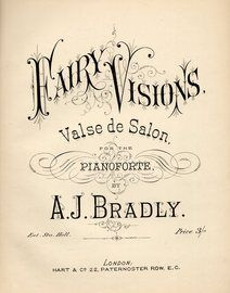 Hairy Visions, valse de salon for the pianoforte