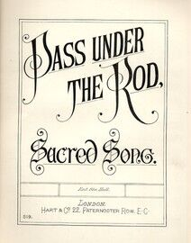 Pass under the Rod - Sacred song