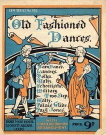 Old Fashioned Dances. (10 dances)