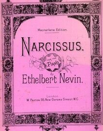 Narcissus - For Piano