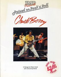 IMP presents raised on Rock n Roll  - Chuck Berry - 14 Songs for Piano Vocal with Chord Symbols