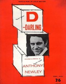 D-Darling - Recorded on Decca by Anthony Newley