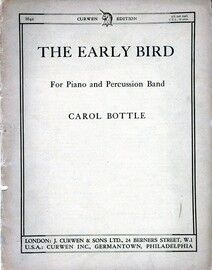 The Early Bird - Nine Proverbs arranged for Piano and Percussion Band