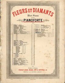 Sunset - Piano Solo from Fleurs et Diamants Short Pieces for the Pianoforte