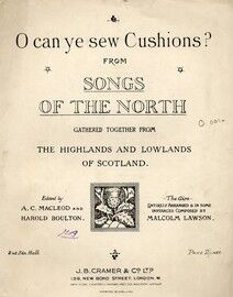 O Can Ye Sew Cushions (Cradle Song), No. 2 of \