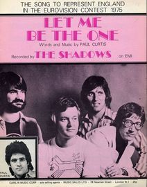 Let Me Be The One - 1975 Eurovision Song Entry - The Shadows