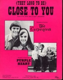 They Long To Be Close to You - The Carpenters and Purple Heart