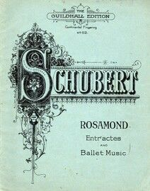 Entractes and Ballet Music to Rosamond for Piano - The Guildhall Edition No. 52