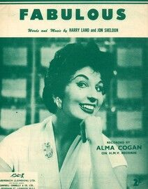Fabulous - Song - Featuring Alma Cogan