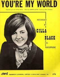 You're My World - Cilla Black