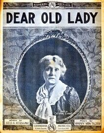 Dear Old Lady - Song - Posed by Catherine Evans