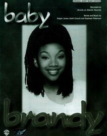 Baby - Featuring Brandy - Original Sheet Music Edition