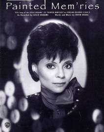 Painted Mem'ries - Featuring Leslie Uggams - Original Sheet Music Edition
