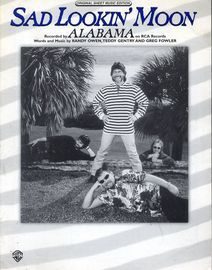 Sad Lookin' Moon - Featuring Alabama - Original Sheet Music Edition
