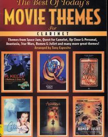 The Best Of Today's Movie Themes for Clarinet