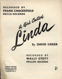 A Girl Called Linda - As Recorded by Frank Chacksfield and Wally Stott