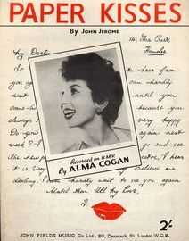 Paper Kisses - featuring  Alma Cogan