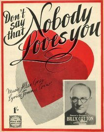 Don't say that Nobody Loves You - Joe Loss, Randolph Sutton, Hal Monty