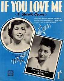 If You Love Me (I won't care) - Rose Brennan and Lita Roza