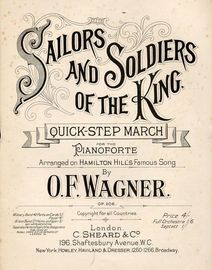 Sailors and Soldiers of the King - Quick-Step March - For the Pianoforte - Op. 206