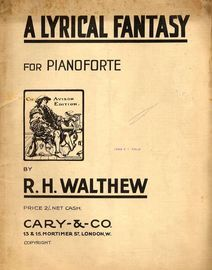 A Lyrical Fantasy for Pianoforte