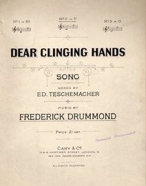 Dear Clinging Hands, No. 2 in F