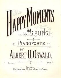 Happy Moments, mazurka