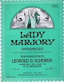 Lady Marjory, intermezzo from