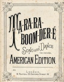 Ta-ra-ra-boom-der-e, the original American edition